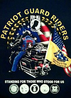 Patriot Guard, very cool.