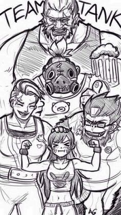From the biggest Reinhardt to the littlest D.Va...