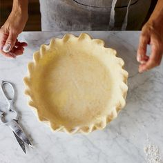 Yogurt is the secret ingredient in this wonderfully flaky and tender buttery pie crust from master baker Alice Medrich.