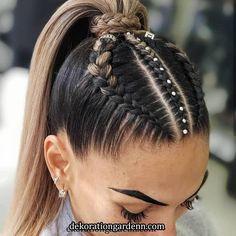 Pin on Hair Ideas Pin on Hair Ideas Sporty Hairstyles, Cool Braid Hairstyles, Easy Hairstyles For Long Hair, Baddie Hairstyles, Teen Hairstyles, Braids For Long Hair, Athletic Hairstyles, Short Hair, Natural Hair Styles