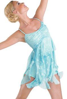 Tie-Dye Glitter Mesh Dress - Balera