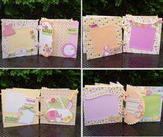 Mini Scrapbook Album Mini Album Baby Girl Mini by shereenaftab