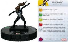 Spider-Girl #027 Amazing Spider-Man Marvel Heroclix - Marvel: Amazing Spider-Man - Heroclix