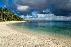 A Beach on Falalop Micronesia  #landscape #beach #falalop #micronesia #photography