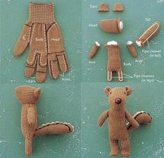 It's so cute! Idea for stray gloves.