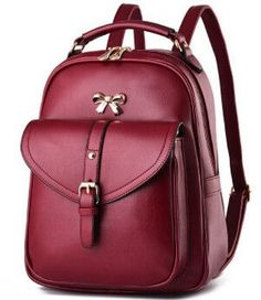 FLYING BIRDS! women leather backpacks in casual daypacks Daily backpack backpack mochila schoolbag travel bags 2016 new LS8512fb