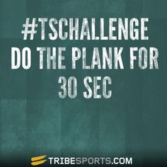 #TSCHALLENGE #Tribesports #Challengeyourself #exercise #workout #fitness #fit #fitspo #inspiration #health #body #plank