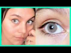 EL SECRETO PARA TENER OJOS BLANCOS Y BRILLANTES EN DÍAS | Sin maquillaje - YouTube
