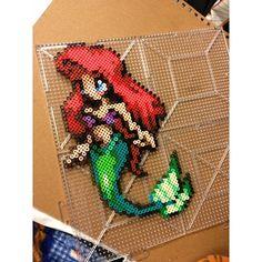 Ariel perler beads by theartzombie