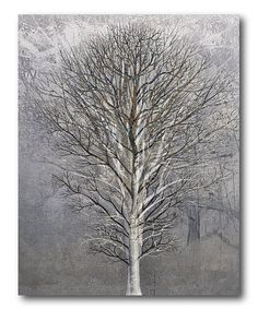 Another great find on #zulily! Large Birch Wrapped Canvas #zulilyfinds