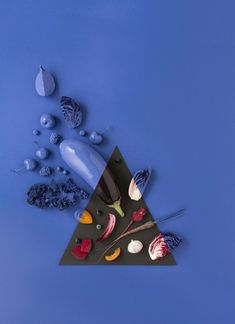Geometrical Food Photographs with a Twist