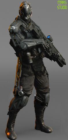 Dark Commander : Mark 1, mars ... on ArtStation at https://www.artstation.com/artwork/dark-commander-mark-1