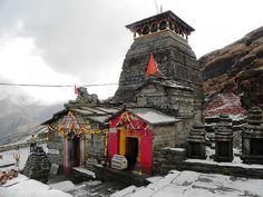 Tungnath Temple, Garhwal Himalayas, Uttarakhand, India