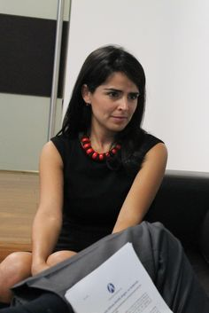 Claudia Palacios, periodista.