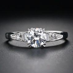 Vintage .61 Carat Diamond Ring - 10-1-5073 - Lang Antiques