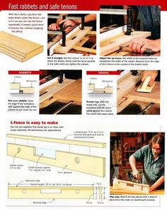 #1350 Table Saw L-Fence - Table Saw Tips, Jigs and Fixtures
