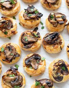 Feuilletés champignons fromage