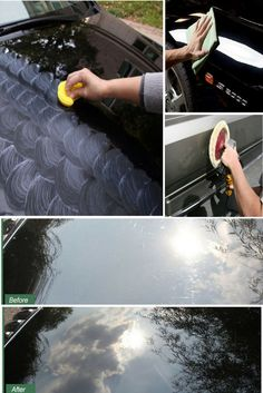 It is important to know how to use a car wax, since applying too little or too much is not recommended.