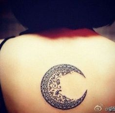 Beautiful crescent moon signifying dreams and heaven