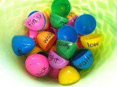 Easter Egg Opposites