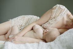 Laying down nursing - Fuji 160 - Kala Rath Photography