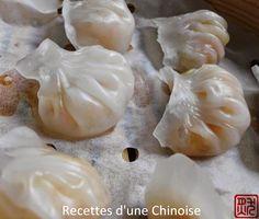 Recettes d'une Chinoise: Raviolis aux crevettes à la vapeur : Haa Gaau 蝦餃