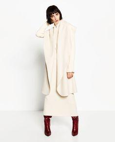 image 1 of handmade draped waistcoat from zara