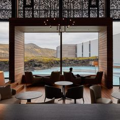 The Retreat at Blue Lagoon is a high-end hotel created by the Icelandic studio Basalt Architects, with Sigríður Sigþórsdóttir as lead designer. The site is surrounded by the UNESCO Global Geopark, a unique landscape of. Blue Lagoon Hotel, Blue Lagoon Resort, Hotel Architecture, Architectural Section, Hotel Interiors, House Design, Instagram, Hospitality, Interiors