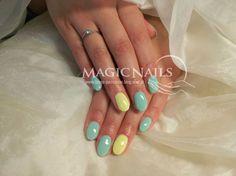 STYLIZACJA i ZDOBIENIE PAZNOKCI  pastel nails colors