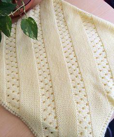 Daily Knit Pattern: Treasured Heirloom Baby Blanket