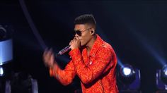 Empire's Jussie Smollett and Yazz performs 'Never Let It Die' on American Idol - YouTube