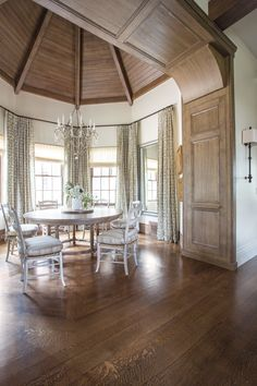 Breaking Tradition | Utah Style & Design-Wow, look at that ceiling!  It draws your eye upward, adding to the already lofty look.