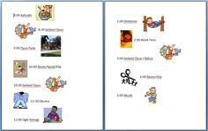 Çocuklar için resimli listeler