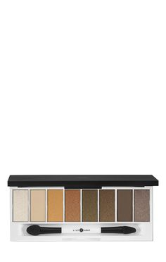 Lily Lolo Filthy Rich Eye Palette Give lids a little luxe with this irresistible palette of 8 stunning shades, from striking gold to rich chocolate, mix and match the matte and shimmering, highly pigm