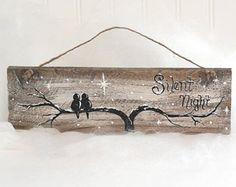 Tú y yo signo signos reclamado madera arte 5 por LindaFehlenGallery