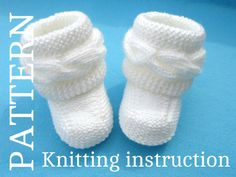 Baby Shoes P A T T E R N Baby Booties Patterns Knitted Baby Booties Knitting Pattern Baby Booty Baby Uggs Patterns Baby Boots ( PDF file ) by Solnishko43 on Etsy https://www.etsy.com/listing/159007710/baby-shoes-p-a-t-t-e-r-n-baby-booties