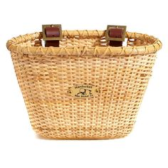 So Cute. Nantucket Bike Basket Co. Lightship Child Natural Oval Basket - $26.99 @hayneedle