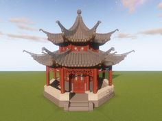 Chinese Architecture You Never Seen Before : Minecraft Minecraft V, Minecraft Kunst, Cute Minecraft Houses, Minecraft Construction, Minecraft Blueprints, Minecraft Designs, Minecraft Crafts, Minecraft Structures, Minecraft Buildings