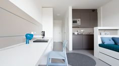CAMPUS VIVA // new dorm in Heidelberg // student apartment// finely tuned materials and colors // feeling good atmosphere