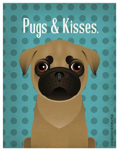 Pug Funny Dogs Original Art Print - Humorous Dog Breed Art -11x14- Funny Dog Poster - Dogs Incorporated by DogsIncorporated on Etsy https://www.etsy.com/listing/99225923/pug-funny-dogs-original-art-print