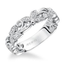 ArtCarved Diamond Anniversary Band
