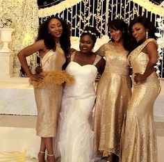 "These are exclusive photos from the set of an upcoming movie titled ""Isoken"". The movie starring Funke Akindele, Dakore Akande, Lydia Forson, Damilola"
