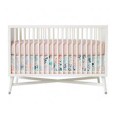 DwellStudio Crib Skirt - Meadow. #modern #nursery #bedding