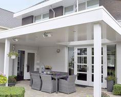 Pergola For Small Patio Outdoor Pergola, Rustic Outdoor, Pergola Kits, Pergola Ideas, House Extension Design, House Design, New Patio Ideas, Terrace Design, Patio Roof