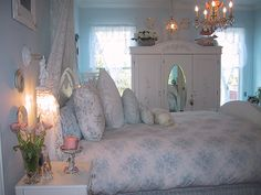 Pics of Shabby Chic Bedrooms | 25 Different Shabby Chic Bedroom Ideas - SloDive