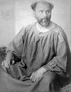 Gustav Klimt in 1914