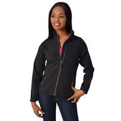 Show details for Ladies Fusion Softshell Jacket Softshell, Athletic, Zip, Lady, Jackets, Fashion, Down Jackets, Moda, Athlete