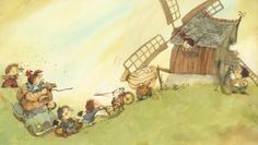 Eve Tharlet - The windmill