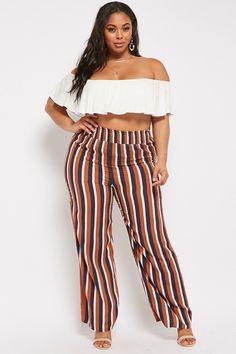 5c287001aaa Forever 21. Wide TrousersWide Leg PantsPlus Size ...