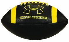 Under Armour UA 295 Spongetech Football, Youth Size, Black/Yellow Under Armour http://www.amazon.com/dp/B00CRPDR6A/ref=cm_sw_r_pi_dp_EtYCub0DA0VKG